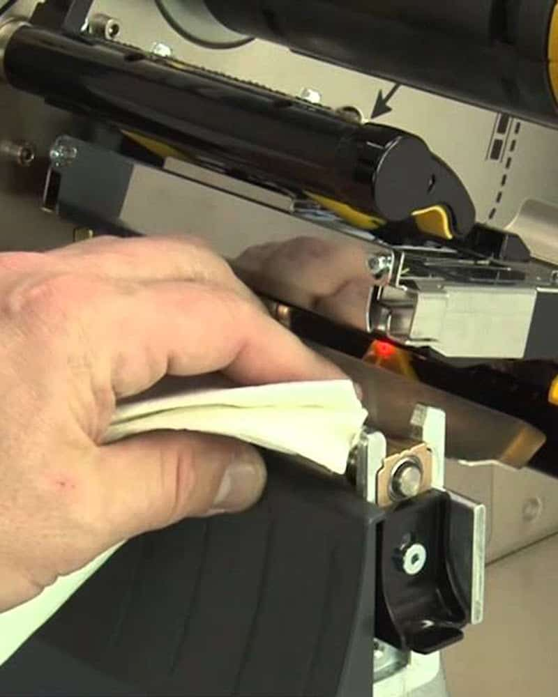 Cleaning a Thermal Printhead