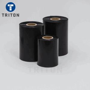 Black 108mm x 450m Wax Thermal Transfer Ribbon