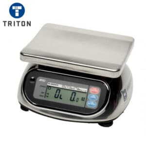 A&D Bench Scale Waterproof Stainless SK-5001WP